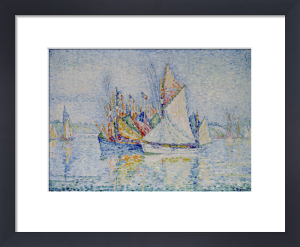 Le Port de Concarneau, c.1933 by Paul Signac