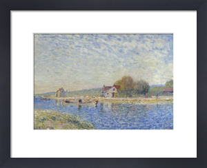 Le Canal du Loing, 1884 by Alfred Sisley