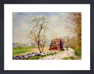 Le Chemin de Butte-Retour en Foret, 1889 by Alfred Sisley