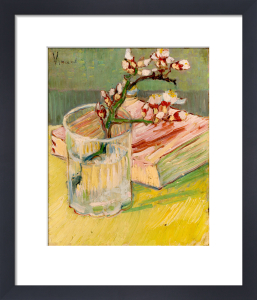 Nature Morte, Branche d'Amandier by Vincent Van Gogh