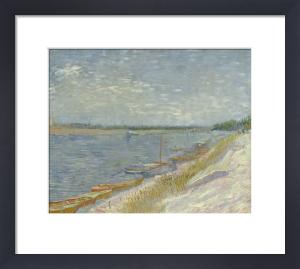 Les Canots Amarres, 1887 by Vincent Van Gogh