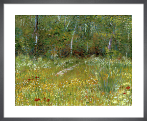 Un Parc au Printemps, 1887 by Vincent Van Gogh