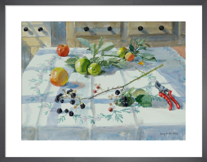 Blackberries and Apples by Lucy Willis