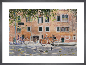 By The Palazzo Molin, Venice by Lucy Willis