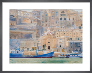 City of Stone, Valletta, Malta by Lucy Willis