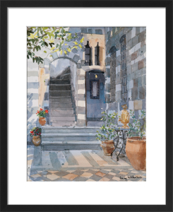 Interior Courtyard, Damascus by Lucy Willis