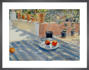 On the Terrace by Lucy Willis