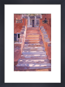 Syros Steps by Lucy Willis