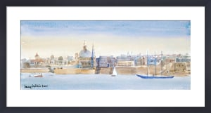 Valletta Skyline by Lucy Willis