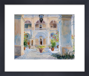 Vilhena Palace, Mdina, Malta by Lucy Willis