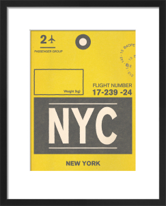 Destination - New York by Nick Cranston