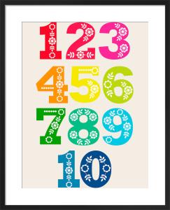 Folk Numbers by Marie Perkins