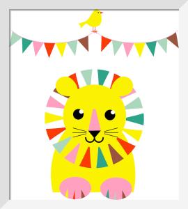 Fun Lion by Marie Perkins