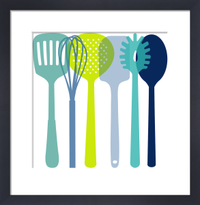 Utensils Cool by Marie Perkins