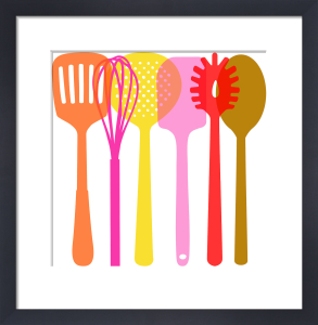 Utensils Hot by Marie Perkins