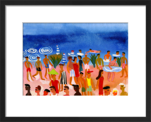 Beach in Nice by Christopher Corr