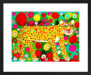 Leopard Artwork by Christopher Corr