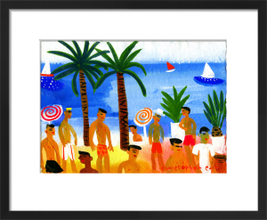 Nice Plage by Christopher Corr