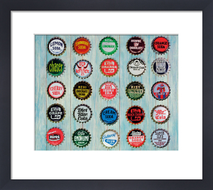 Bottle Tops by Keri Bevan