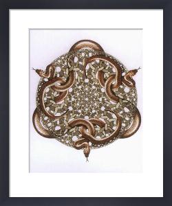 Snakes by M.C. Escher