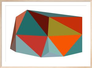Triangulations No.1, 2013 by Henri Boissiere
