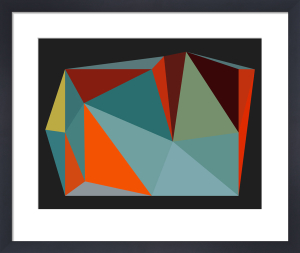 Triangulations No.4, 2013 by Henri Boissiere