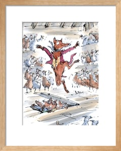 Roald Dahl - Fantastic Mr Fox by Quentin Blake