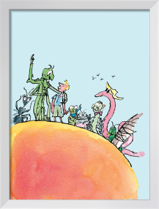 Roald Dahl - James and the Giant Peach by Quentin Blake