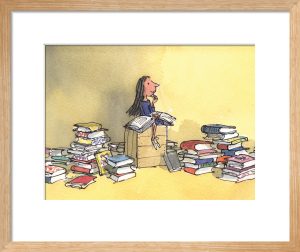 Roald Dahl - Matilda 1 by Quentin Blake