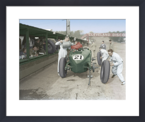 Brooklands Racing by Anonymous