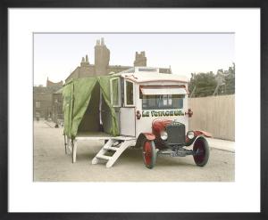 Motor caravan by Anonymous
