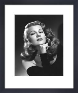 Rita Hayworth, 1952 by Bob Coburn