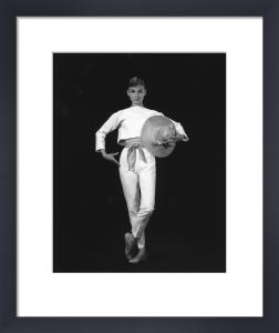 Audrey Hepburn, 1957 by Bud Fraker