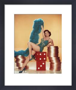 Cyd Charisse, 1956 by Virgil Apger
