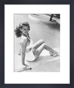 Rita Hayworth, 1943 by Anonymous
