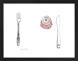 Tunnocks Teacake by Rachel Eardley