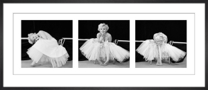 Marilyn Monroe - Ballerina Triptych by Anonymous