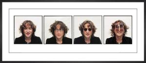 John Lennon - Quartet by Bob Gruen