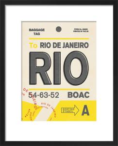 Destination - Rio by Nick Cranston