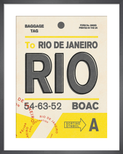 Destination - Rio by Nick Cranston
