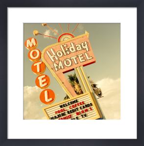 Las Vegas - Holiday Motel by Keri Bevan