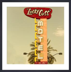 Las Vegas - Lucky Cuss Motel by Keri Bevan