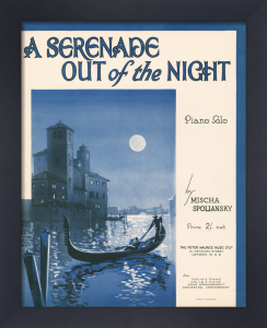 A Serenade Out of the Night by Anonymous