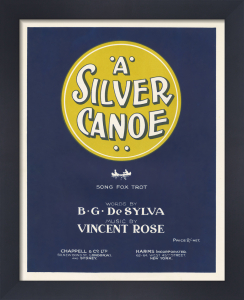 A Silver Canoe by Anonymous