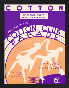 Cotton (Cotton Club Parade) by Anonymous