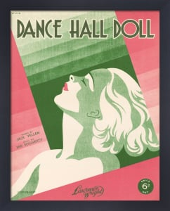 Dance Hall Doll by Anonymous