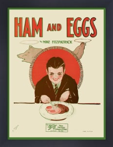 Ham and Eggs by Anonymous