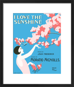 I Love the Sunshine by Anonymous