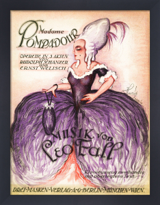 Madame Pompadour by Anonymous