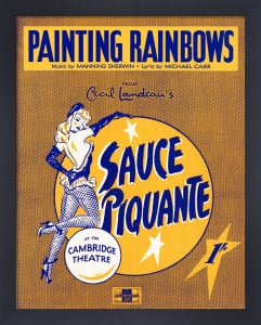 Painting Rainbows (Sauce Piquante) by Anonymous